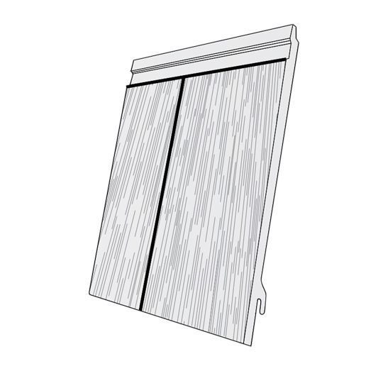 "Royal Building Products 7"" Celect® Shake Siding Shale"
