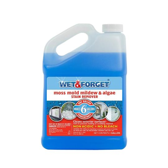 Wet & Forget Mold Stain Remover - 1 Gallon