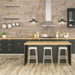 "Great American Spaces 1"" x 8"" x 16' Easy BarnWood™ V-Groove Board"