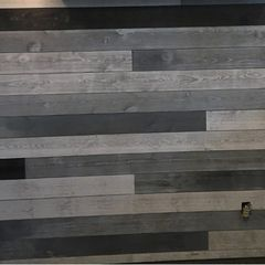 Great American Spaces ShipLap Feature Display Board
