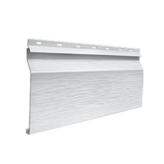 "Quality Edge TruCedar® Single 6"" Dutch-Lap Steel Siding Ironstone"