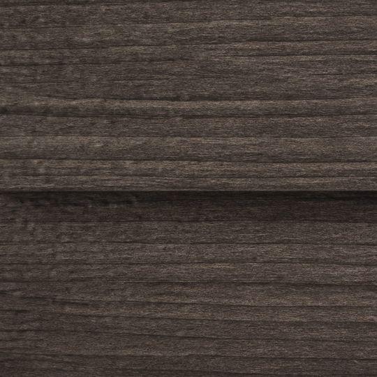 """Quality Edge 26 Gauge x 6"""" x 10' TruCedar® Narrow Board & Batten Steel Siding - Woodgrain Colors Birch"""