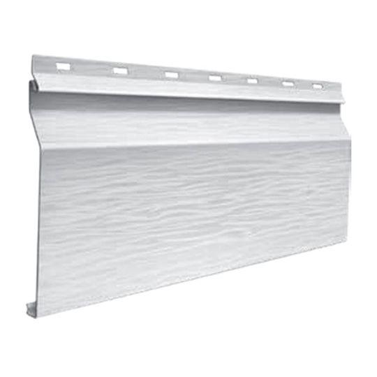 "Quality Edge Single 6"" Dutch-Lap TruCedar Steel Siding Panel with Foam Backing Napa Vine"