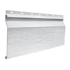 "Quality Edge Single 6"" Dutch-Lap TruCedar Steel Siding Panel with Foam..."