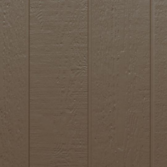 "Allura 5/16"" x 4' x 10' Traditional Cedar 8"" OC Groove Vertical Fiber Cement Panel Snow"