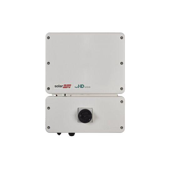SolarEdge Technologies 6 Kilowatt SetApp Enabled Single Phase Inverter with HD-Wave Technology & RGM (-40°C)