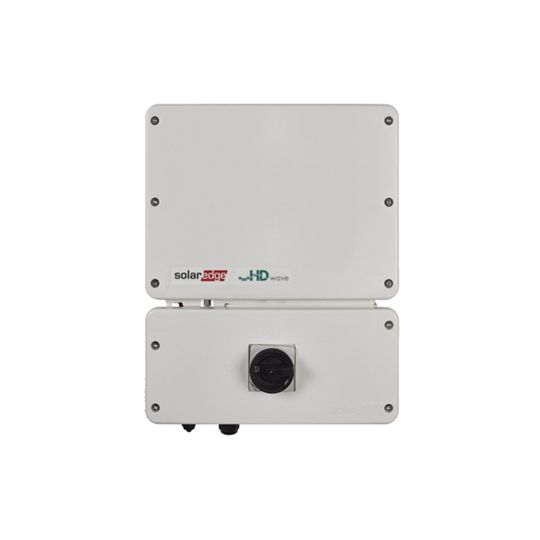 SolarEdge Technologies 7.6 Kilowatt SetApp Enabled Single Phase Inverter with HD-Wave Technology (-40°C)