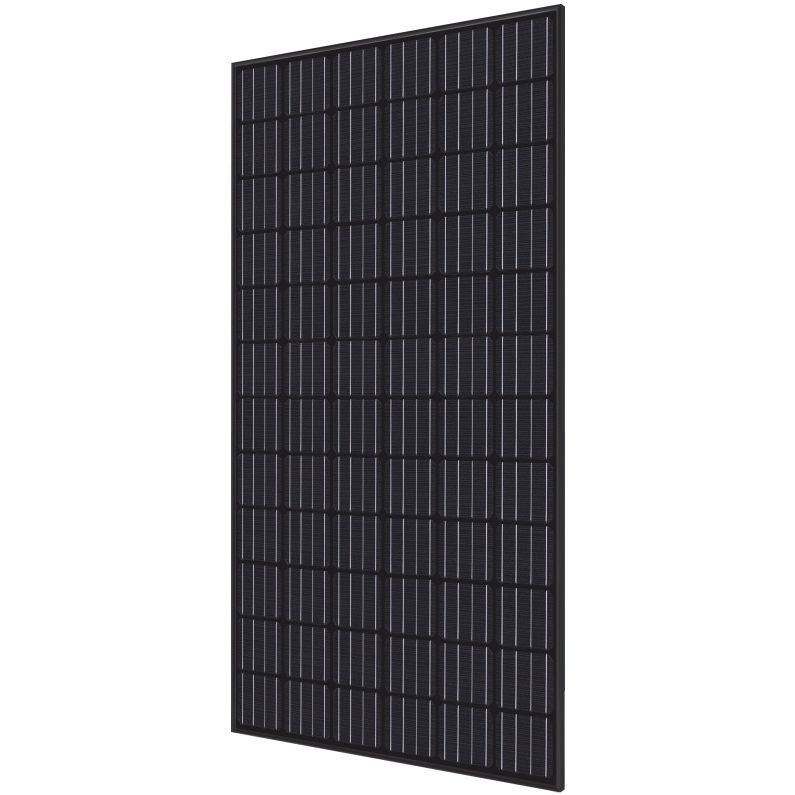 Hyundai Energy Solutions 40 mm 350 Watt RI-Series 72-Cell Mono-Crystalline Type Solar Module with All Black Frame