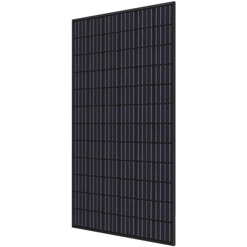 Hyundai Energy Solutions 40 mm 350 Watt RI-Series 72-Cell Mono-Crystalline Type Solar Module with All Black Frame