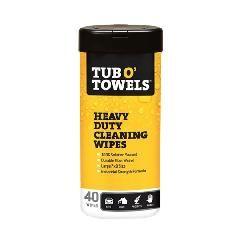 Orgill Tub O' Towels® Multi-Purpose Scrubbing Wipes Plus Display -...