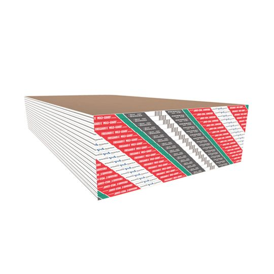 "Georgia Pacific 5/8"" x 4' x 8' ToughRock® Fireguard X® Mold-Guard™ Gypsum Board"