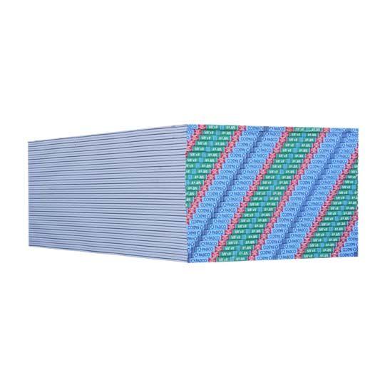 "PABCO Gypsum 5/8"" x 4' x 8' Mold Curb® Plus Type X Gypsum Board"