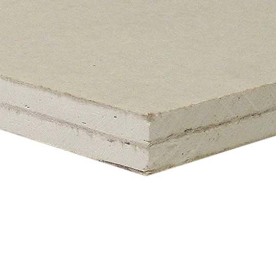 "PABCO Gypsum 1/2"" x 4' x 8' QuietRock® 510 Sound Reducing Drywall Panel"