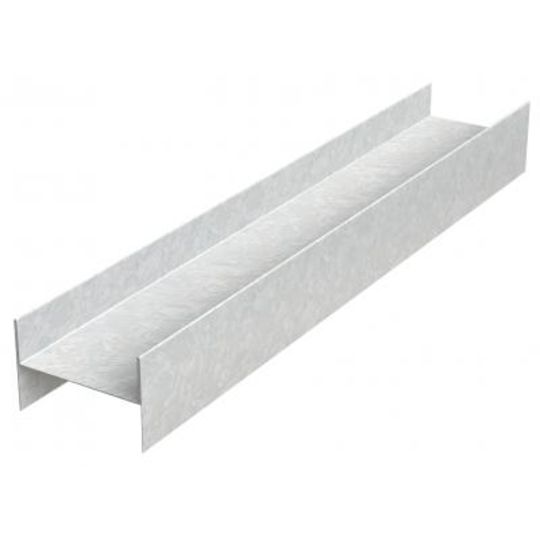 "Generic Steel 25 Gauge x 2"" x 12' H Stud Area Separation Wall Profile"