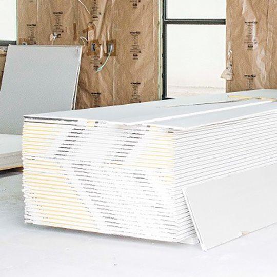 """Generic Drywall 1/2"""" x 4' x 10' Regular Gypsum Wallboard"""