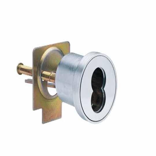 Schlage 80-129 SFIC Rim Cylinder - Housing Satin Chrome