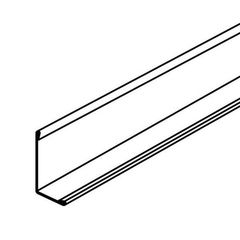 """Armstrong 2"""" x 2"""" x 10' Hemmed Angle Molding"""