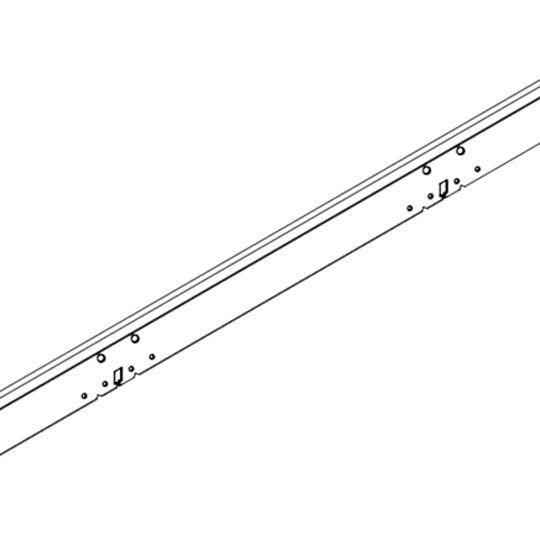 """Armstrong 2"""" x 12' StrongBack™ G90 Galvanized Support Hanger"""