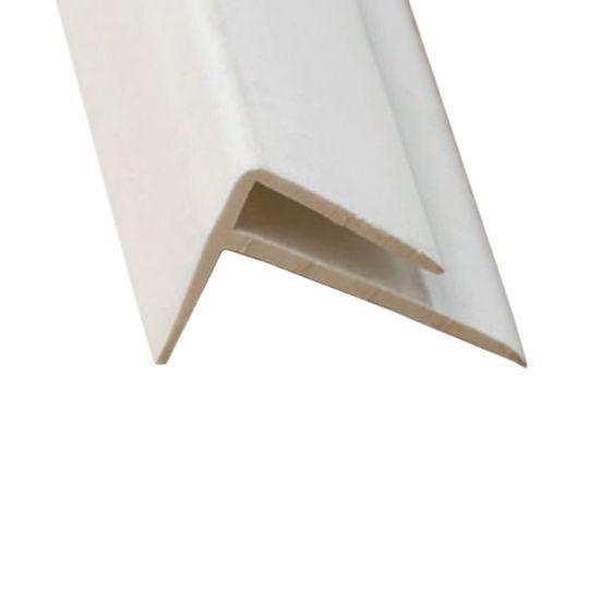 Marlite 8' PVC Outside Corner Trim Dark Grey