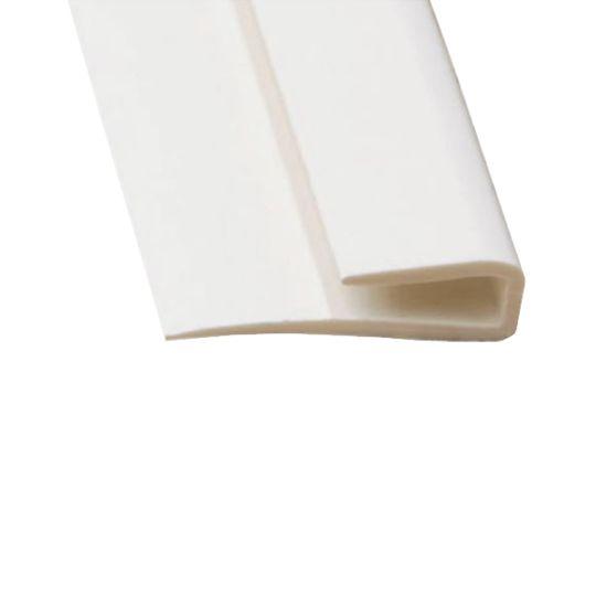 Marlite 8' PVC Edge Trim Light Grey