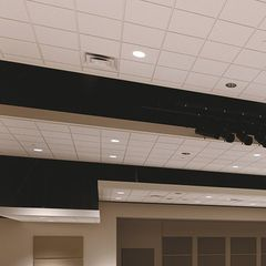 "Certainteed Ceilings 5/8"" x 1'8"" x 5' Trim Edge Fine Fissured Mineral..."