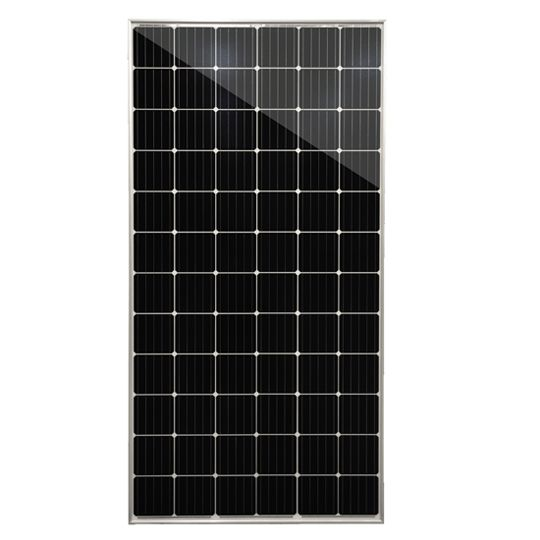 Mission Solar Energy 40mm 375 Watt PERC 72 Mono-Crystalline Solar Module with Silver Frame