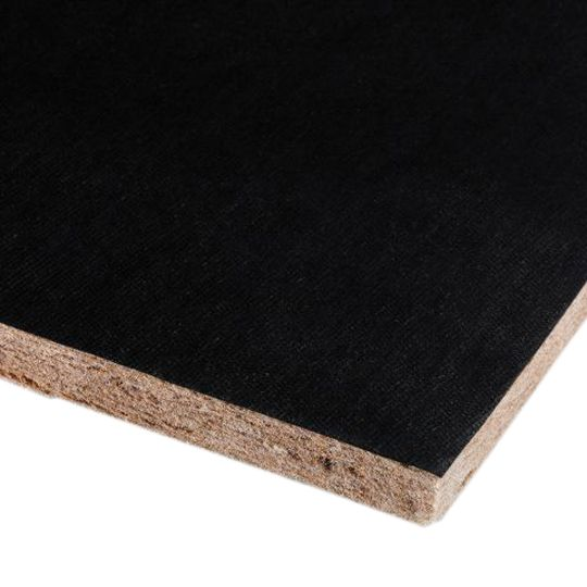 "Armstrong (5823) 5/8"" x 2' x 2' BioAcoustic™ Infill Square Edge Panels - Carton of 12 Black Matte"