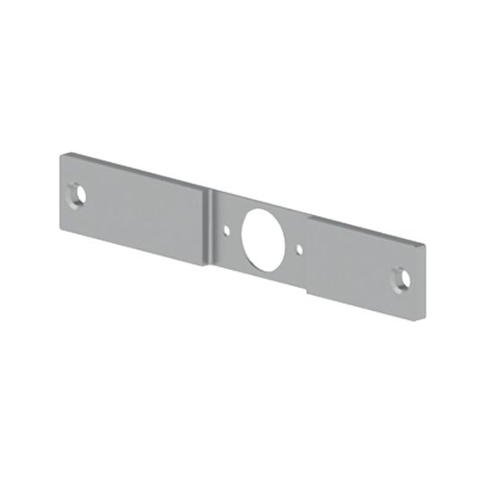 """Hager Companies .238"""" x 1-1/4"""" x 8"""" 336N Latch Adapter Filler Plate - 86 to 161 Edge Prep"""