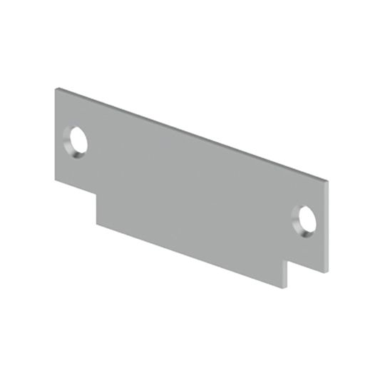 "Hager Companies .093 x 1-1/4"" x 4-7/8"" 336Q Strike Filler Plate for Frame"