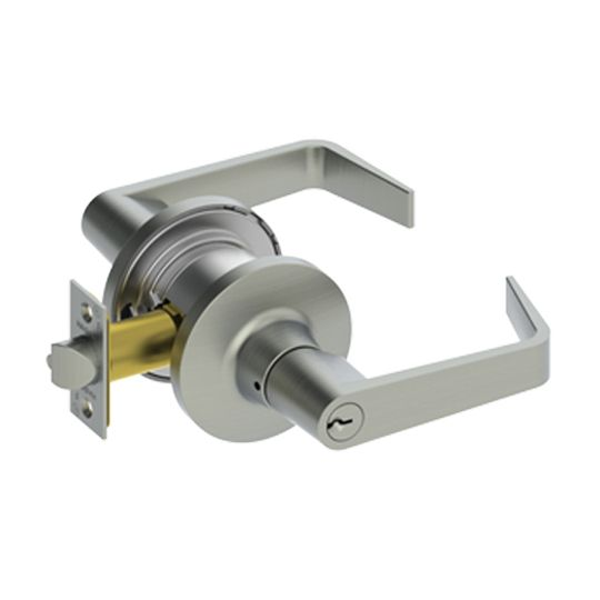 Hager Companies 3680 Storeroom Lockset Withnell Lever Satin Chrome
