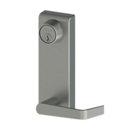 Hager Companies 47NL LHR Night Latch Withnell Lever Aluminum Finish