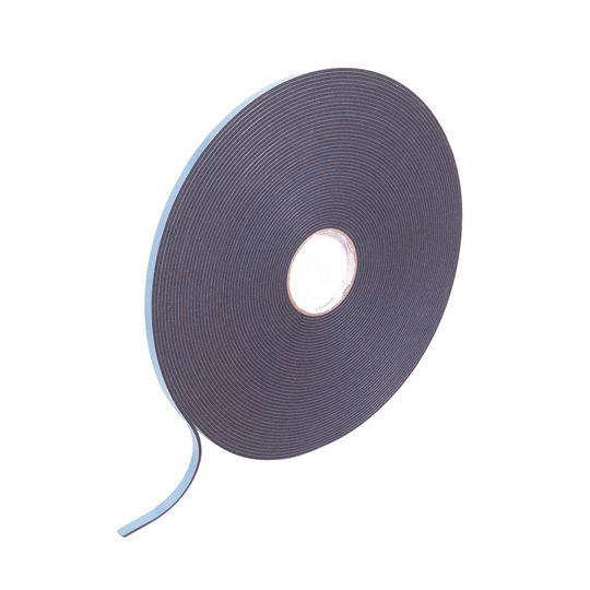 """National Guard Products 1/16"""" x 3/8"""" x 200' PVC Foam Glazing Tape Black"""
