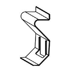 Armstrong Axiom® Serpentina® Perimeter Panel Hold Down Clip