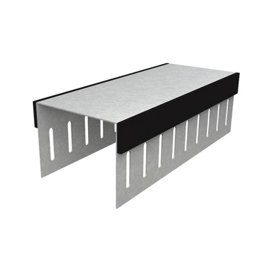 "Clark Dietrich Building Systems 20 Gauge x 3-5/8"" x 12' BlazeFrame® Profile with Slotted Legs"