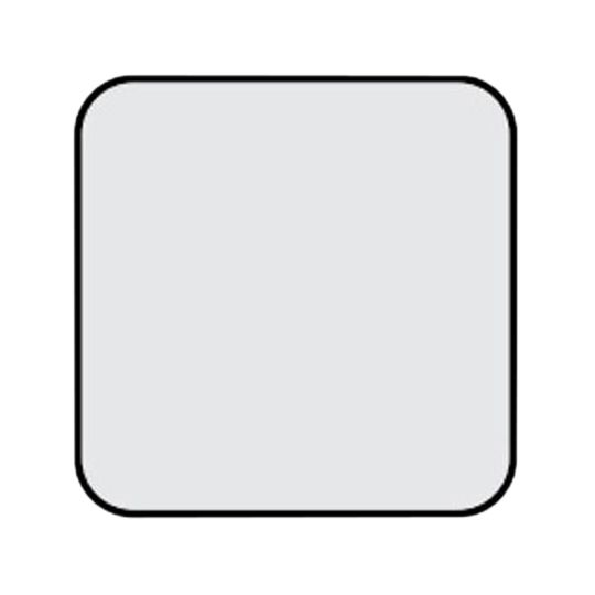"""Armstrong (5635) 7/8"""" x 4' x 4' SoundScapes® Shapes Cut-Corner Square Acoustical Panels with 6"""" Radius Black"""