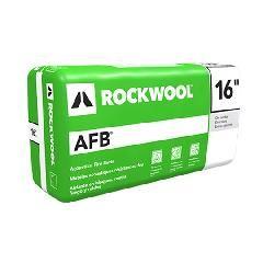"Rockwool 3.5"" x 16"" x 4' AFB® Batt Insulation - 64 Sq. Ft. Bag"
