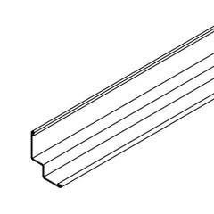 """Armstrong 15/16"""" x 15/16"""" x 10' Seismic Compatible Shadow Molding with..."""