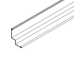 """Armstrong 3/4"""" x 15/16"""" x 10' Hemmed Shadow Molding with 3/4"""" Reveal -..."""