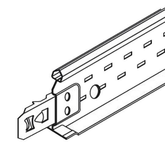 """Armstrong 15/16"""" x 1-3/8"""" x 2' Prelude® XL Cross Tee - 120 Lin. Ft. per Carton Black"""
