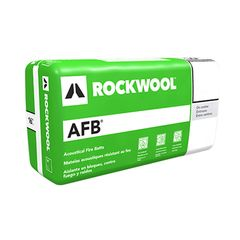 "Rockwool 3.5"" x 2' x 4' AFB® Batt Insulation - 64 Sq. Ft. Bag"