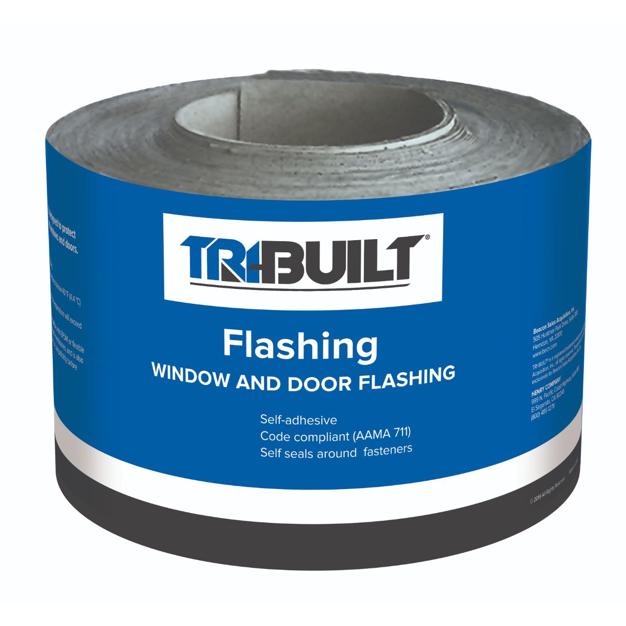 "TRI-BUILT 6"" x 75' Asphalt Flashing Tape"