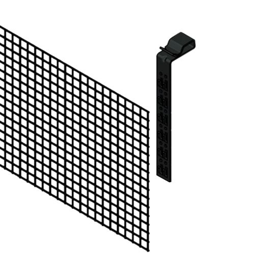 "Snap N Rack 8"" x 100' Array Edge Screen Kit - Kit of 40 Clips"
