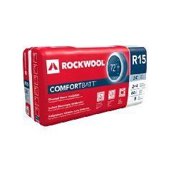 "Rockwool 3-1/2"" x 23"" x 47"" COMFORTBATT® R-15 - 60.06 Sq. Ft. Bag"