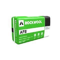 "Rockwool 3"" x 15"" x 4' AFB® Batt Insulation - 80 Sq. Ft. Bag"