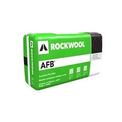 "Rockwool 4"" x 2' x 4' AFB® Batt Insulation - 64 Sq. Ft. Bag"