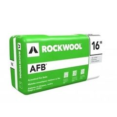 "Rockwool 5"" x 16"" x 4' AFB® Batt Insulation - 42.67 Sq. Ft. Bag"