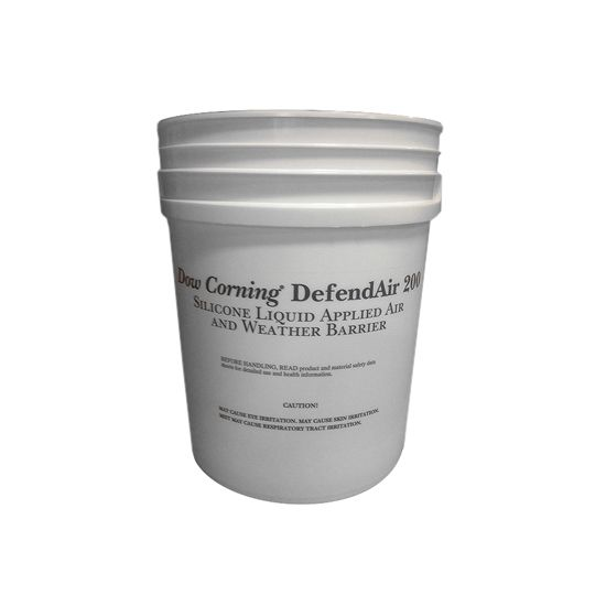 DOW DEFENDAIR™ 200C Air & Weather Barrier Coating - 5 Gallon Pail Charcoal Grey
