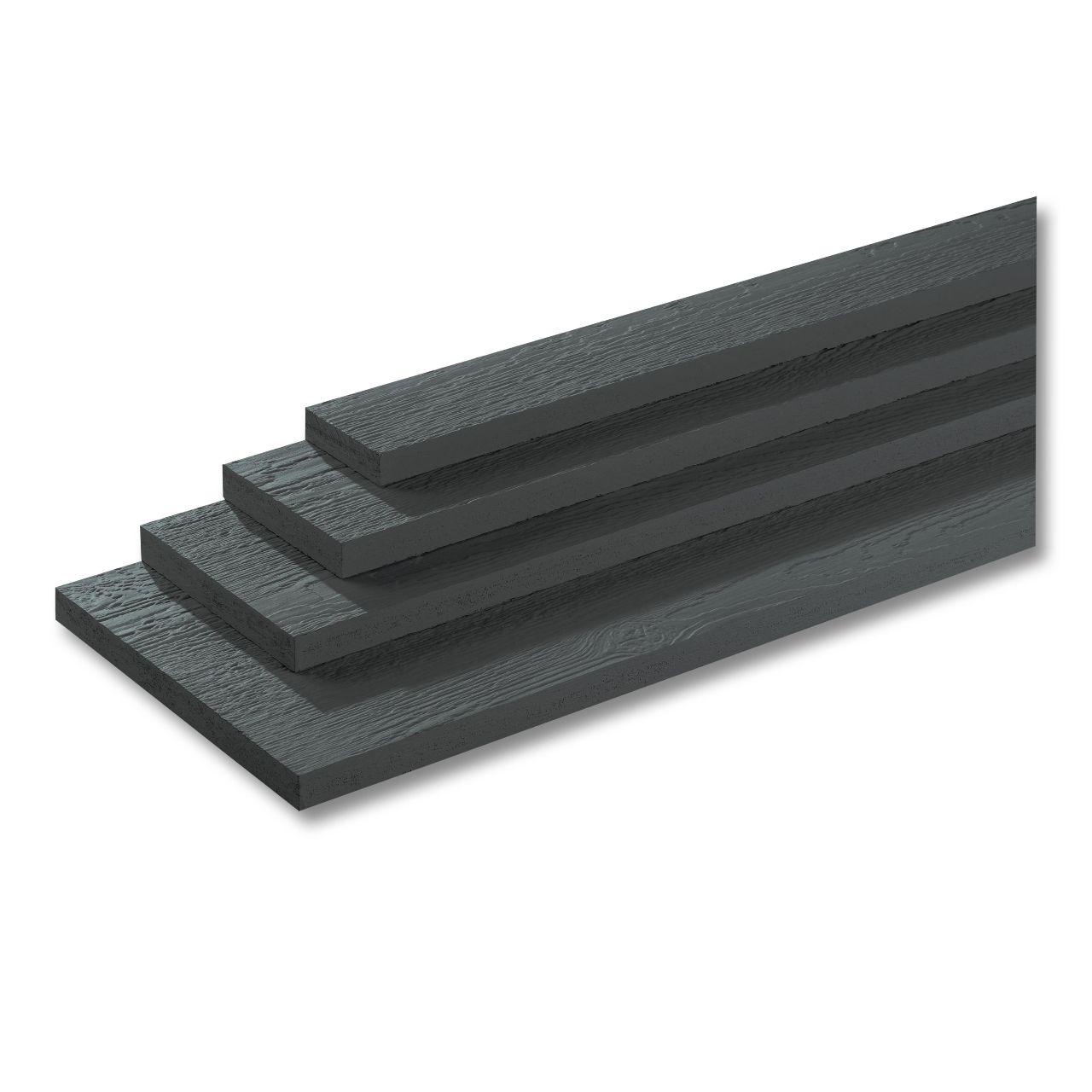 "LP SmartSide ExpertFinish 19/32"" 2-1/2"" x 16' 190 Series Cedar Texture Trim Engineered Wood Siding Sand Dunes"