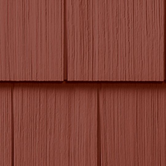 "CertainTeed Vinyl Building Products Cedar Impressions® Double 7"" Straight Edge Perfection 3G Polymer Shingle Siding Heritage Cream"