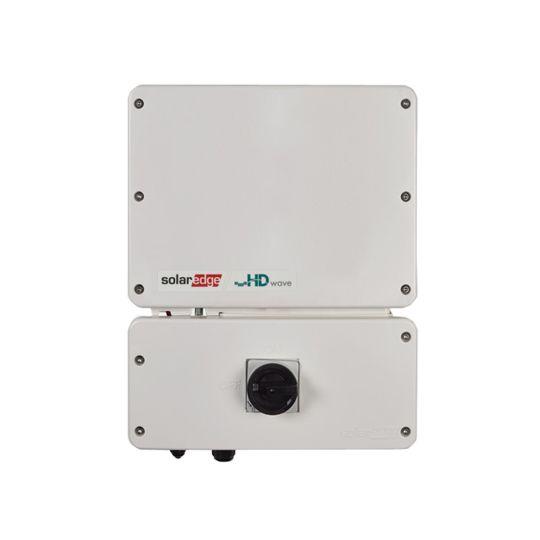 SolarEdge Technologies 11.4 Kilowatt Single Phase Inverter with HD-Wave Technology, RGM, Consumption Meter, SetApp Enabled